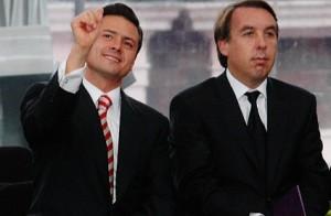 Azcàrraga y EPN