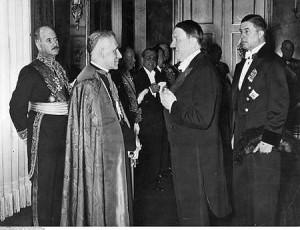 Hitler y papa