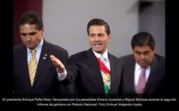 Peña Nieto PRD agachones