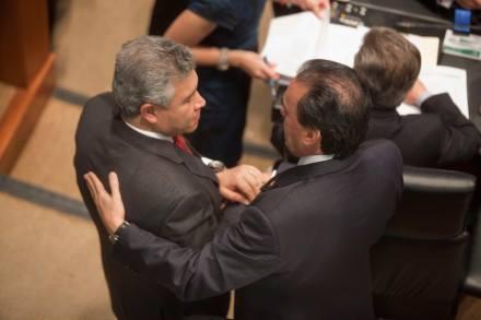 Senadores, espalda
