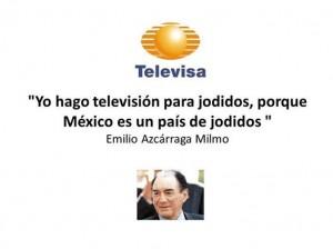 Televisa, jodidos
