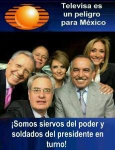 Televisa, siervos