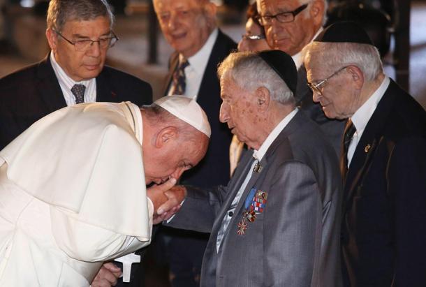Pope Francis visit in Yad Vashem